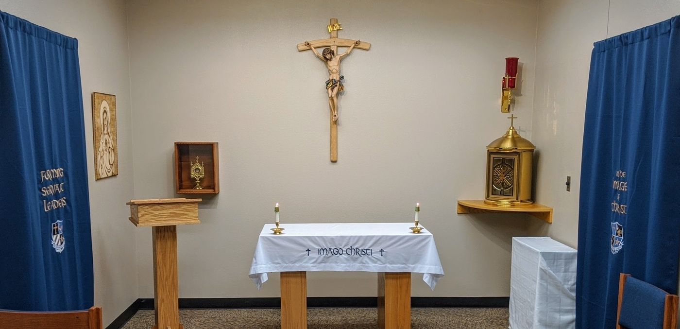 Join us on Fridays for Mass from our school chapel